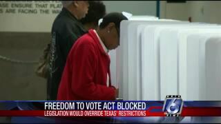 Texas Republican senators join to block Democrats' voter rights act