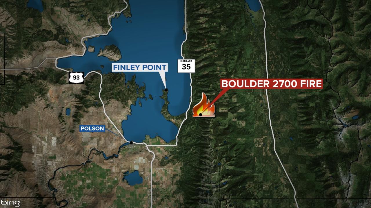 Boulder Fire Map