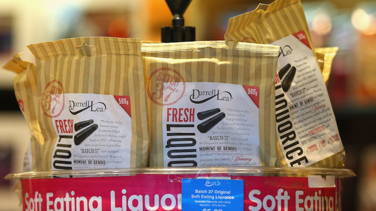 FDA: Don't overdose on black licorice