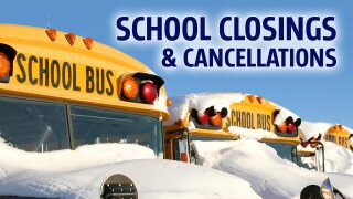 Schools closing early due toweather
