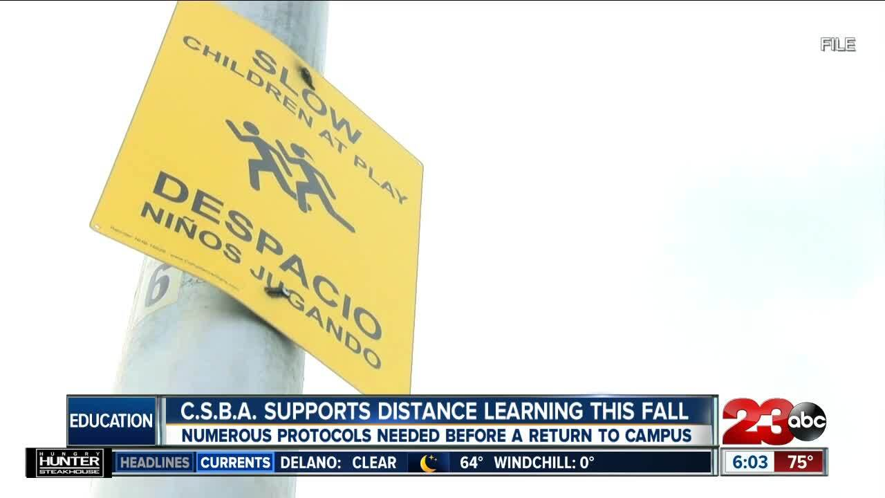 CSBA Supports Distance Learning