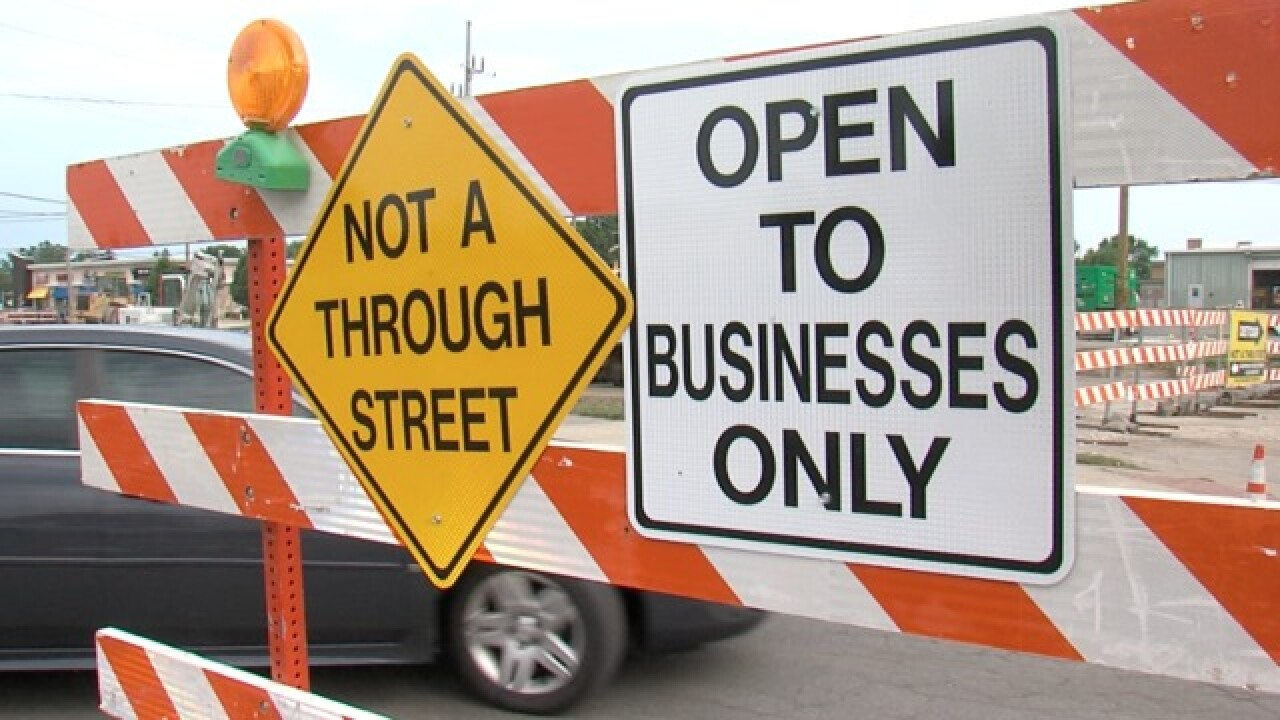 Construction closes major Greewood intersection
