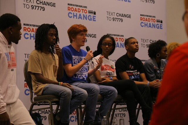 March for Our Lives Road to Change Tour stops in Milwaukee