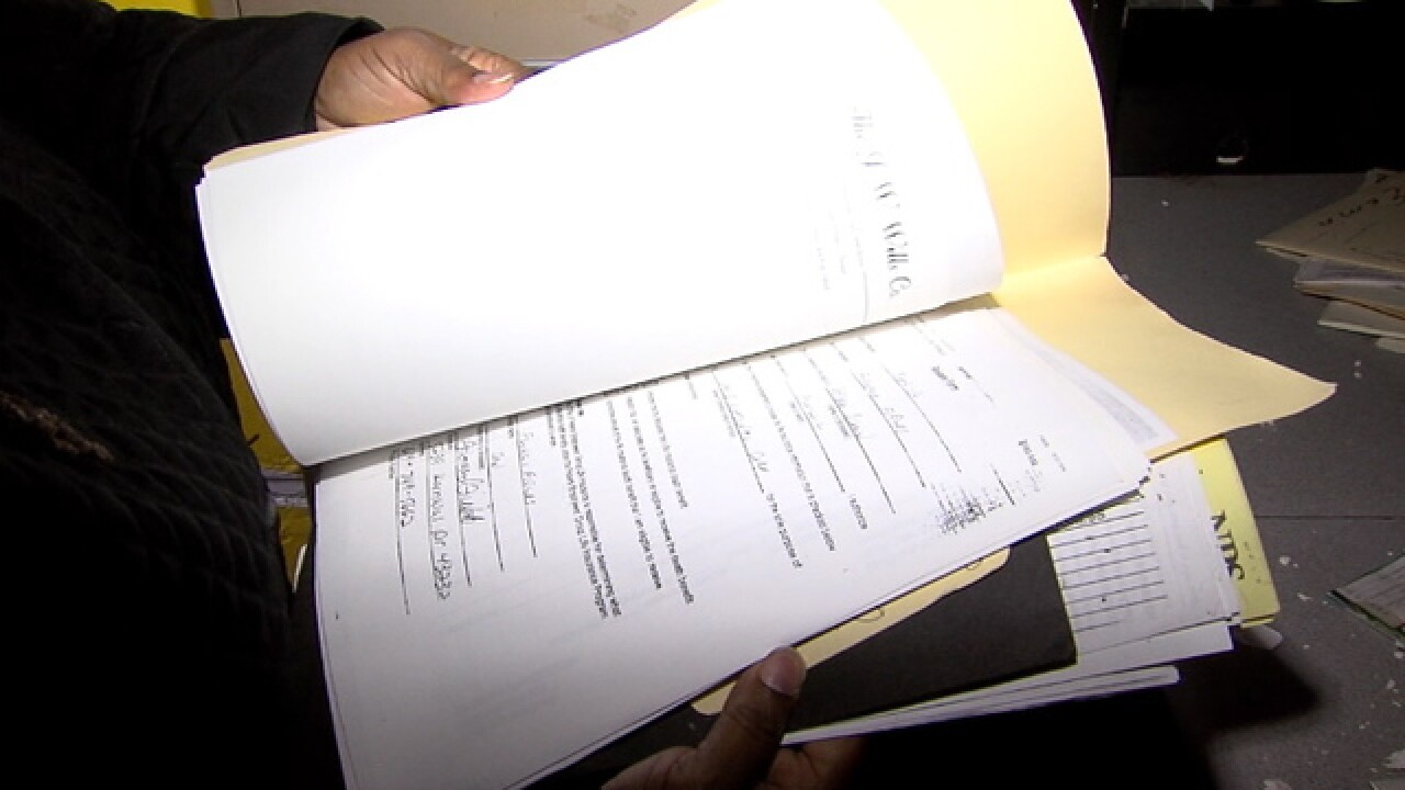 CLE family records left exposed at funeral home