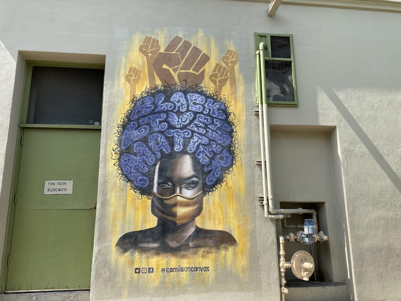 Muralist Camila Ibarra