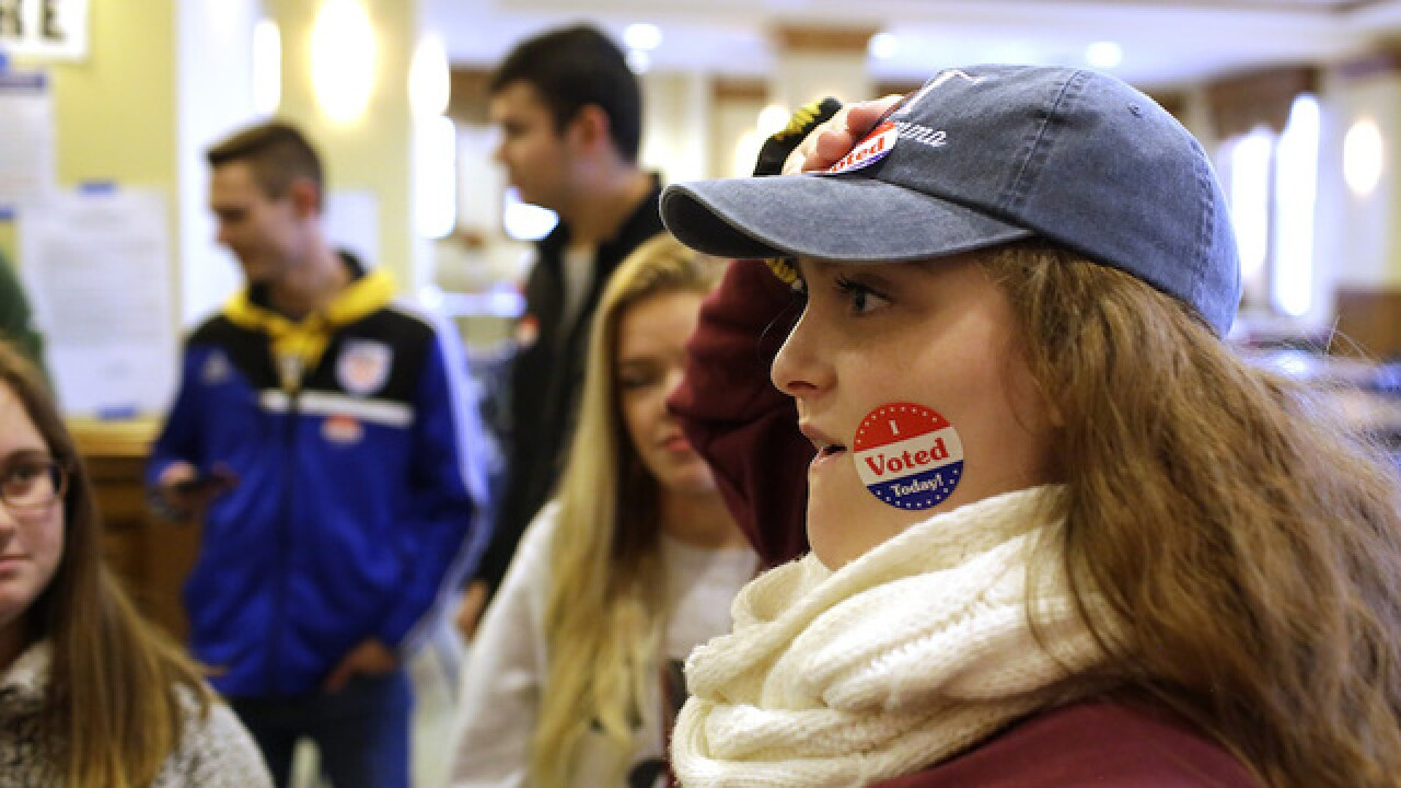 Photos show what voting looks like across the U.S.
