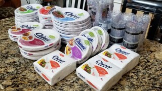 Couple Charged $1000 For Shipping Paper Plates Gets Free Plates From Manufacturer
