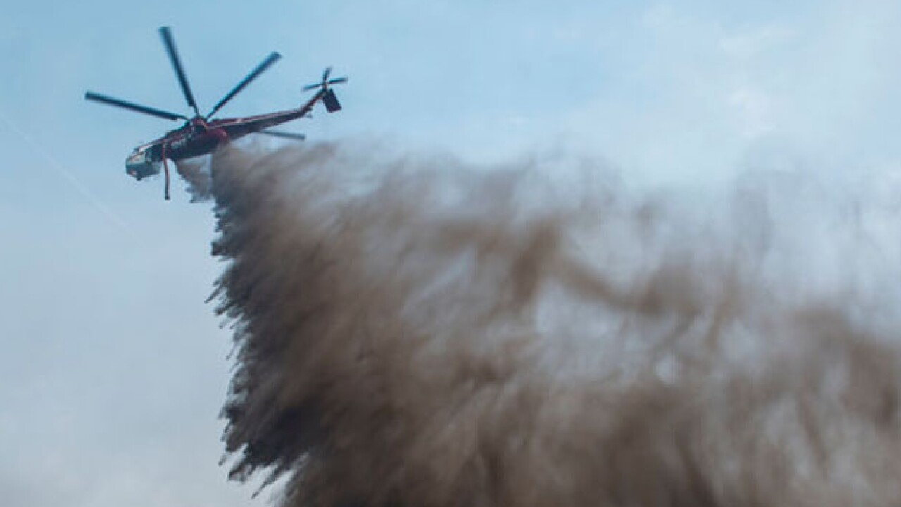 Cave Fire In Santa Barbara County Spreads To Over 4000 Acres, Threatening Homes