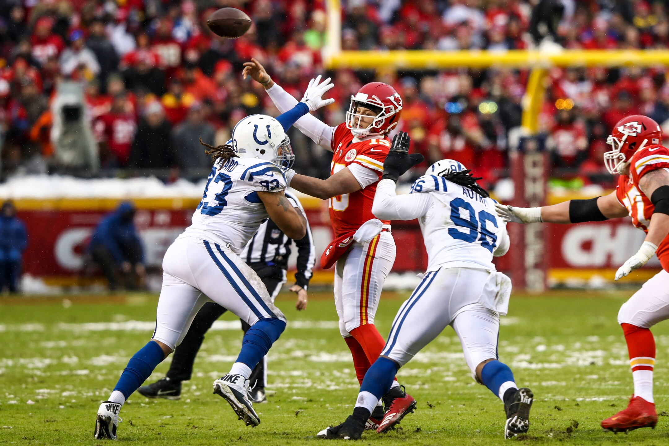 Divisional Round - Indianapolis Colts v Kansas City Chiefs
