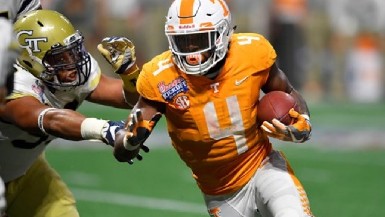 Vols Don't Quit, Rally Past Georgia Tech In 2 OTs