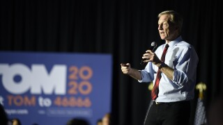 Tom Steyer drops out of presidential race after loss in South Carolina, reports say