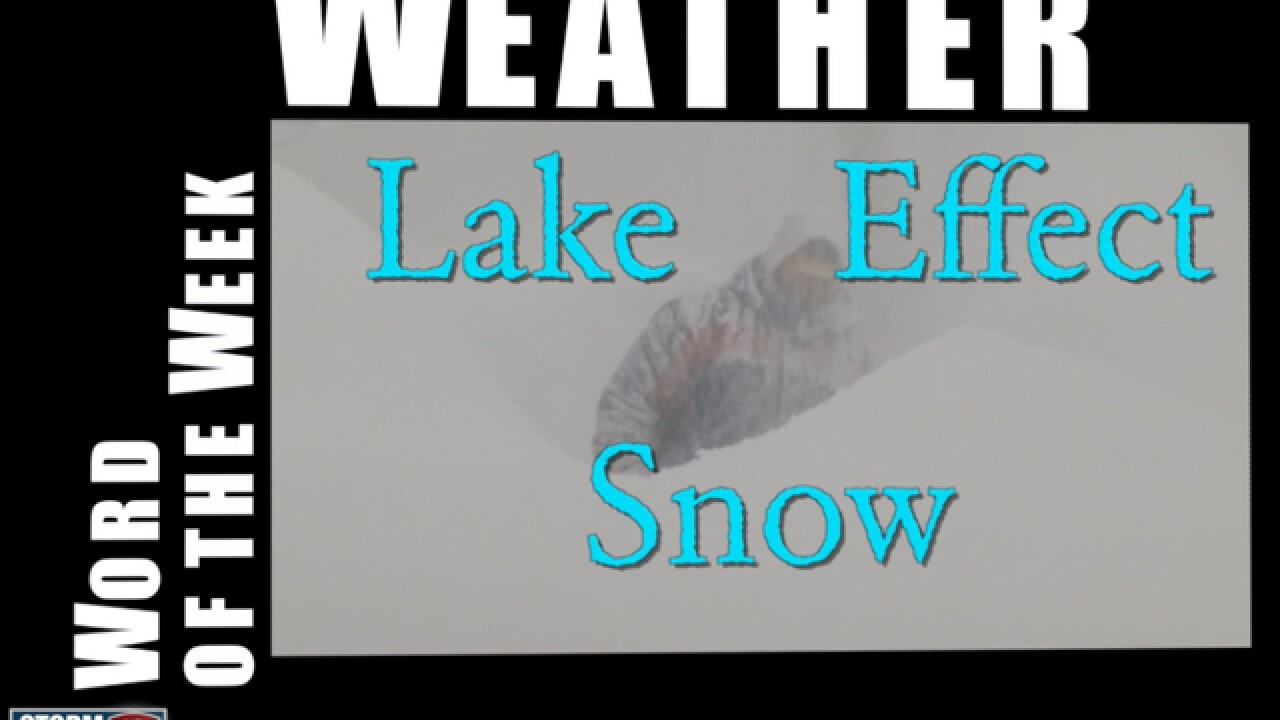 U.S. weather: Lake effect snow is coming