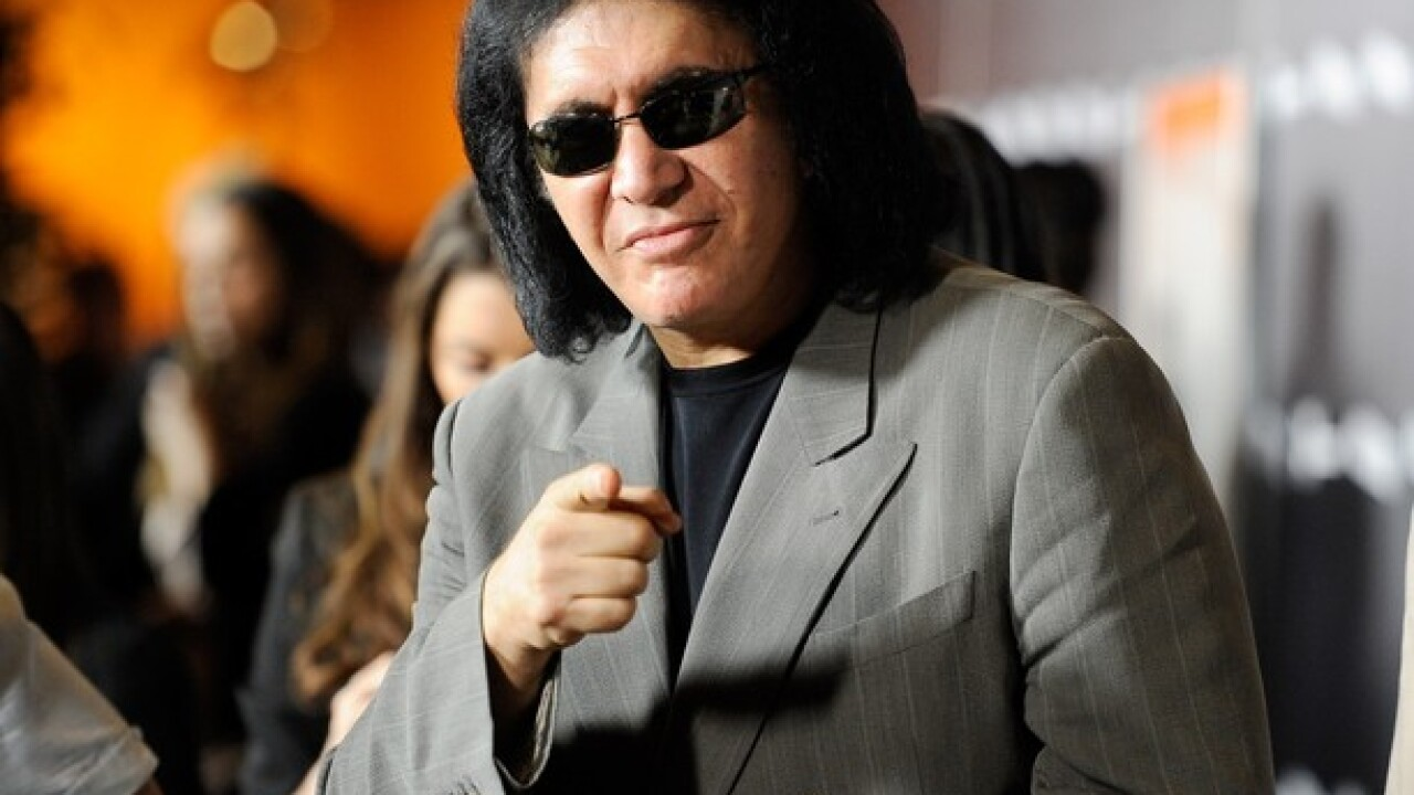 Rock legend Gene Simmons says money buys happiness