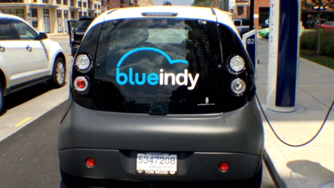 Blue Indy Expands To Airport