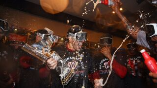 Photos: Photos: Nationals clinch NLCS, World Series to be in D.C. for first time since1933!