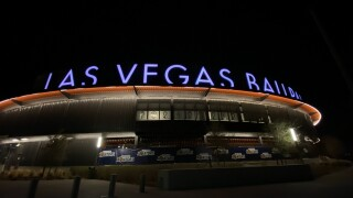 The Las Vegas Aviators play at the Las Vegas Ballpark located near Downtown Summerlin
