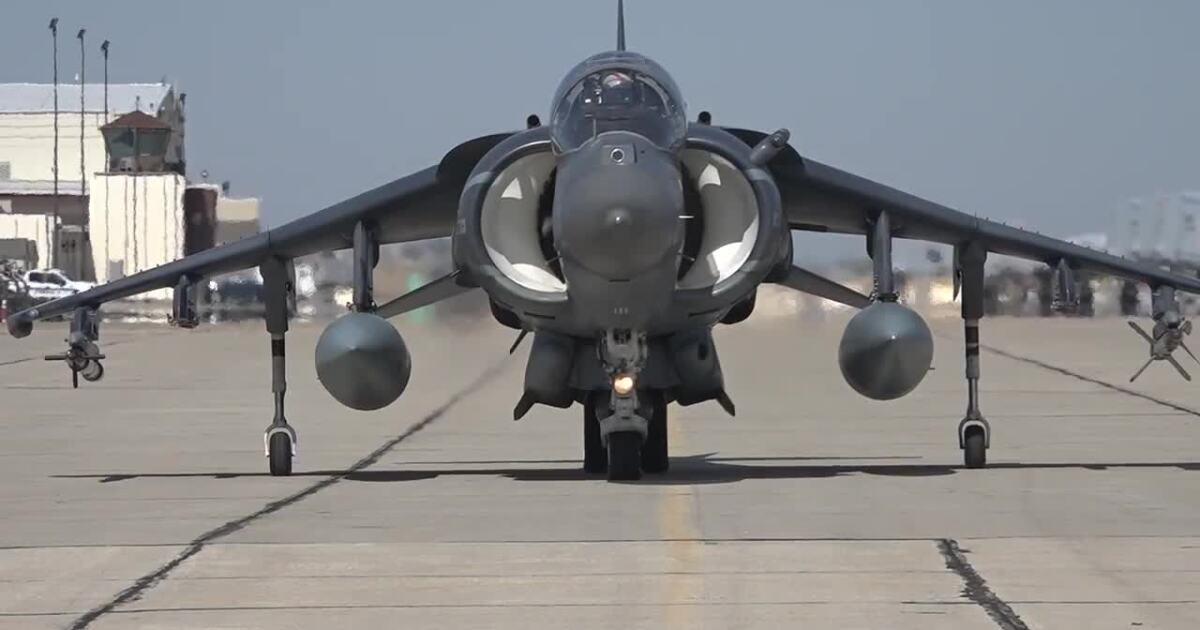 Marine Corps brings harrier jets for joint training with the Idaho National Guard