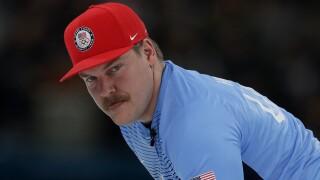 Wisconsin Olympic Curler Matt Hamilton forms mustache militia