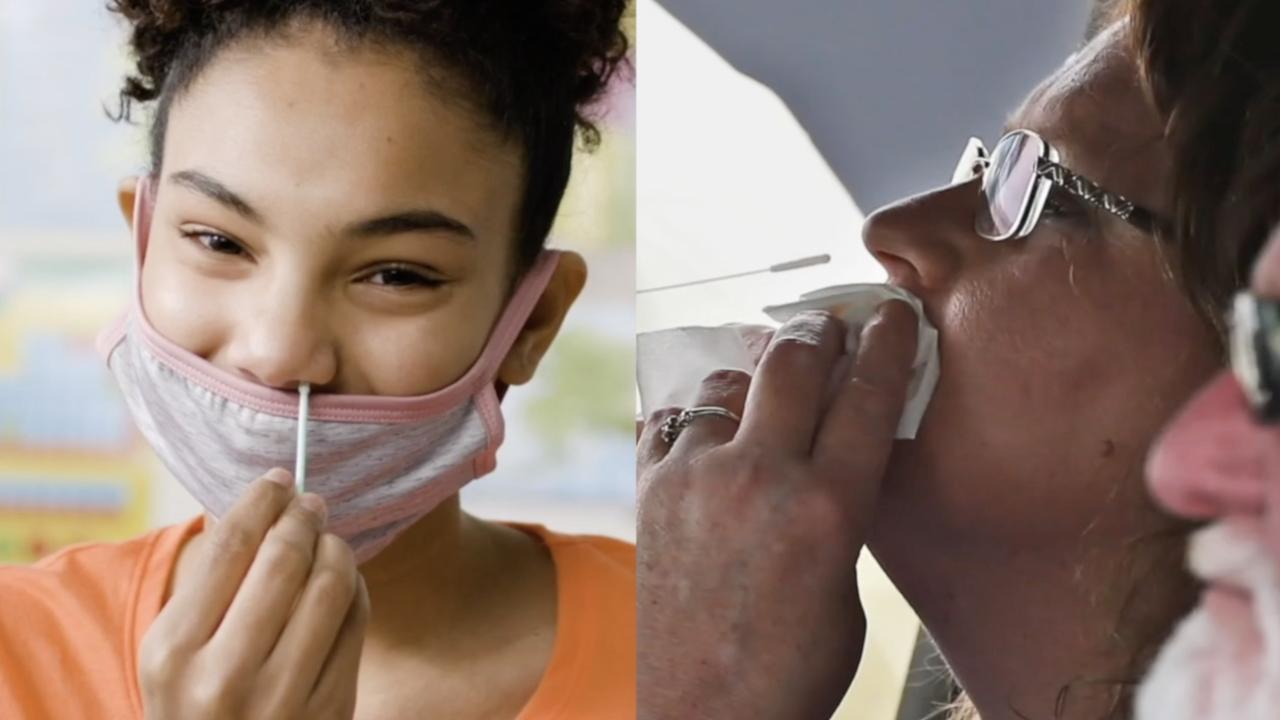 Nasal swabs