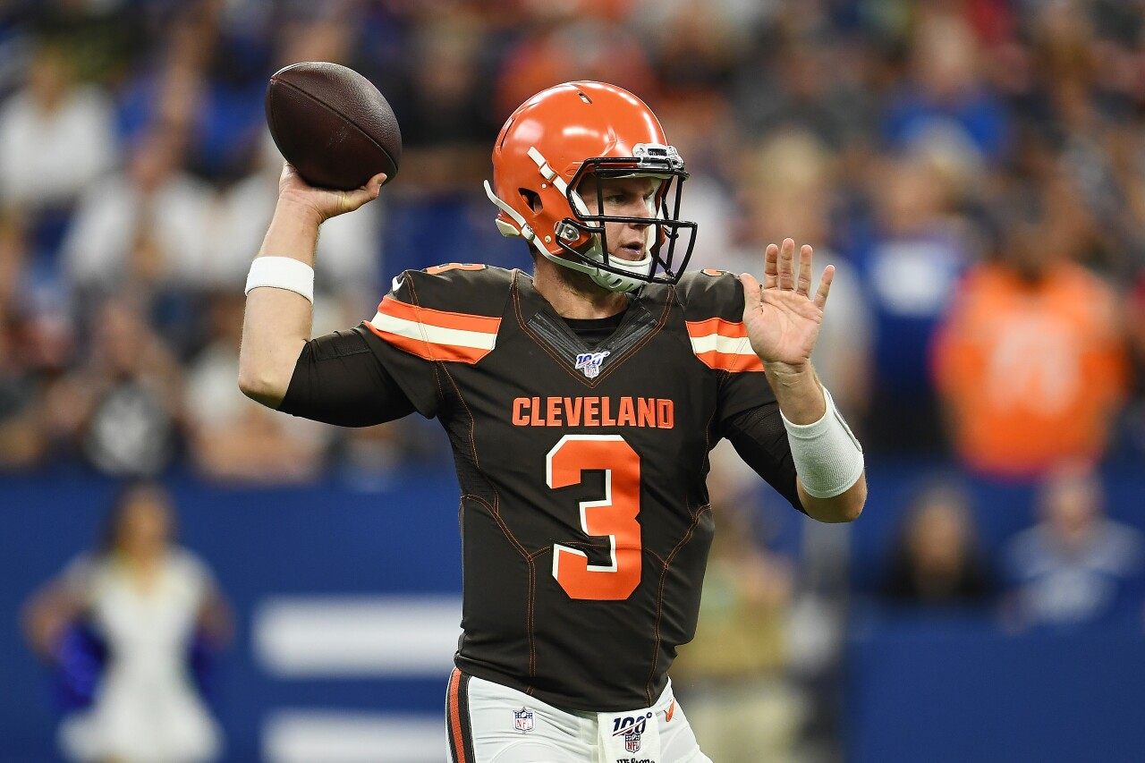 Cleveland Browns v Indianapolis Colts Garrett Gilbert