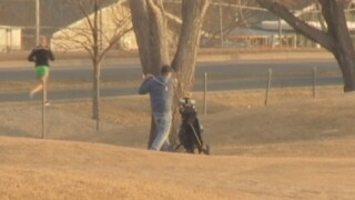Billings golfers enjoy rare chance to play in January