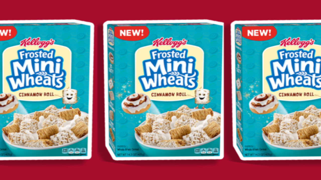 New Frosted Mini-Wheats Taste Like Cinnamon Rolls