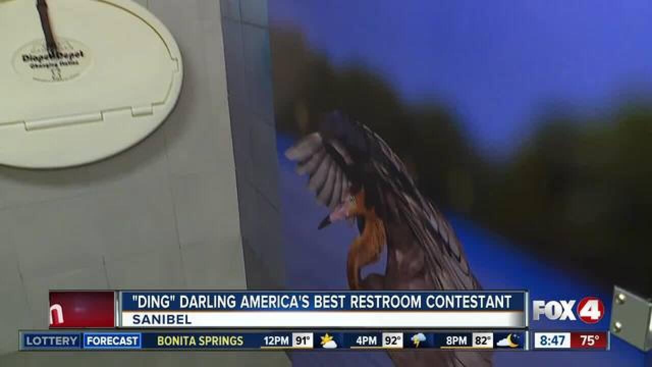 """Ding"" Darling finalist in best bathroom contest"