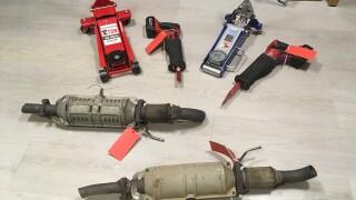 21-076 Catalytic Converters, Saws and Jacks.JPG