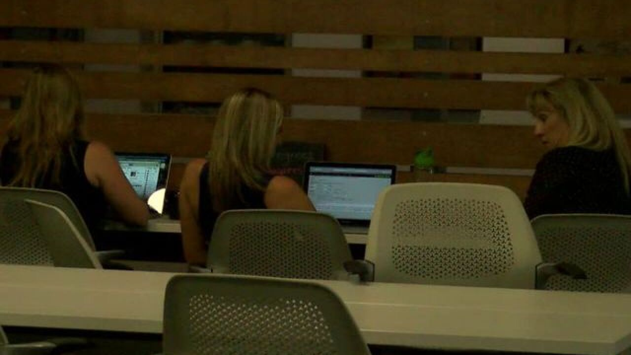 Modern, open workspace sees new faces every day