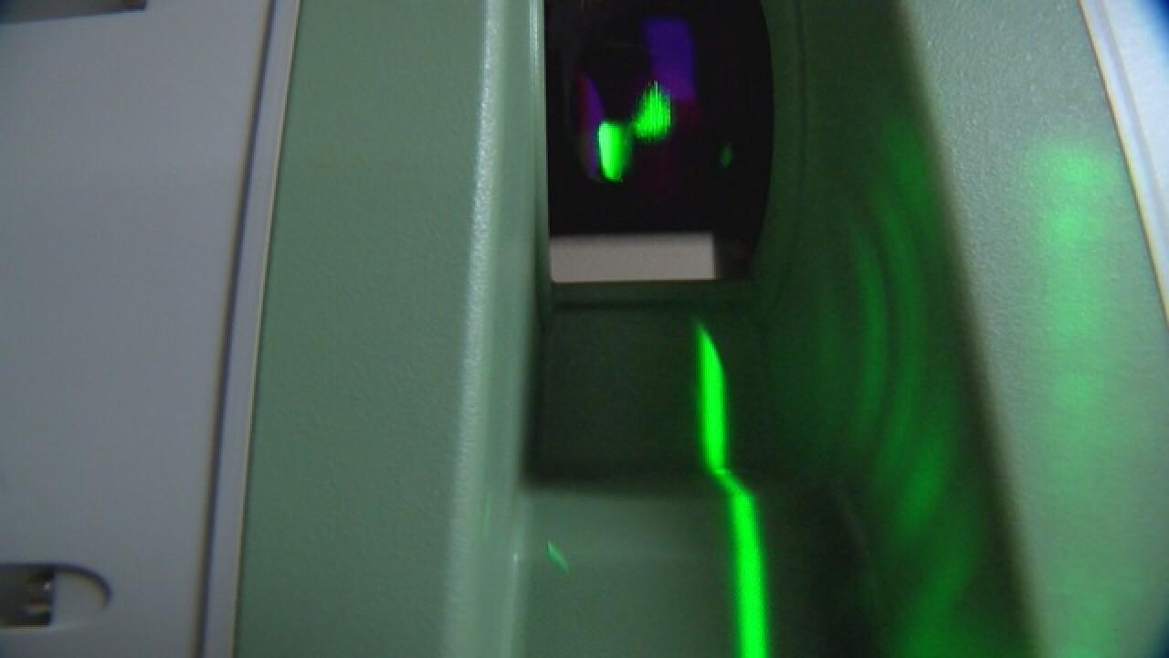 Sheriff's laser sheds light on crimes