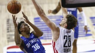 Saben Lee Pistons Rockets Basketball