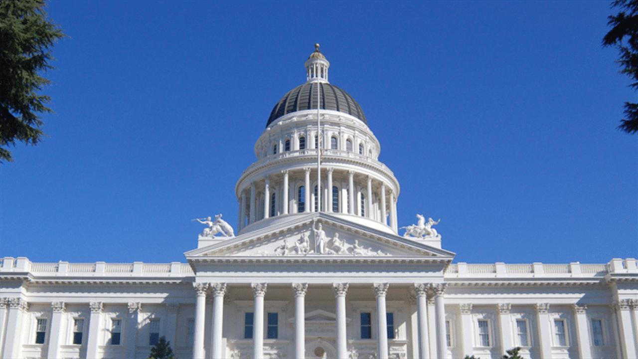 Major criminal justice bills in California Legislature