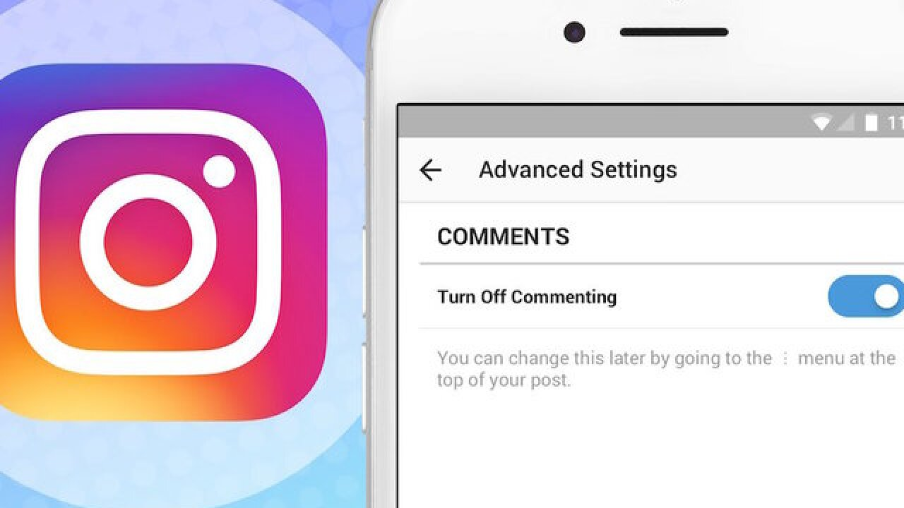 Instagram lets users disable comments