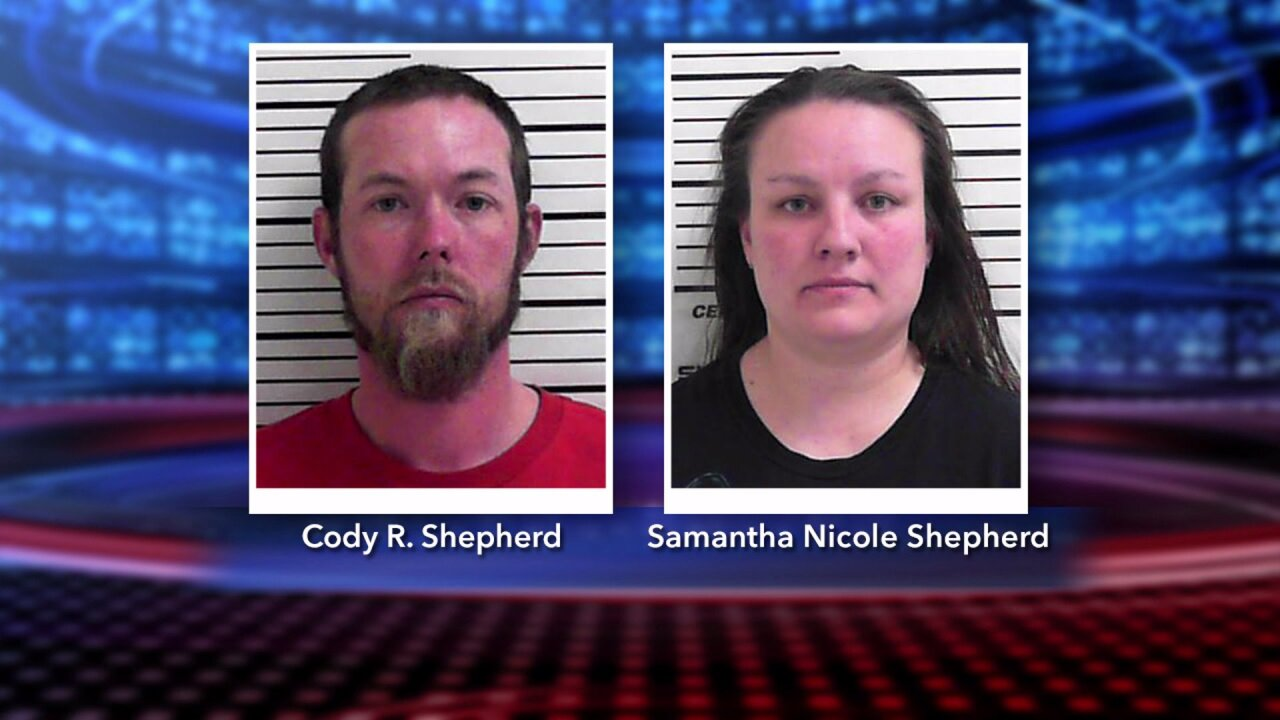 Utah couple arrested on child rape charges
