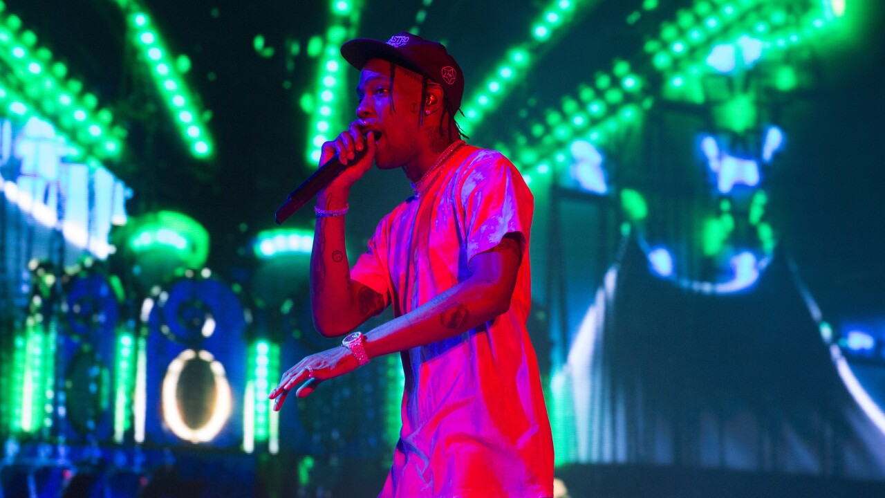 Travis Scott is 1st person since Michael Jordan to get signature McDonald's meal