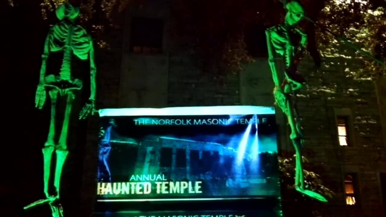 Get spooked at the 7th annual Haunted Masonic Temple