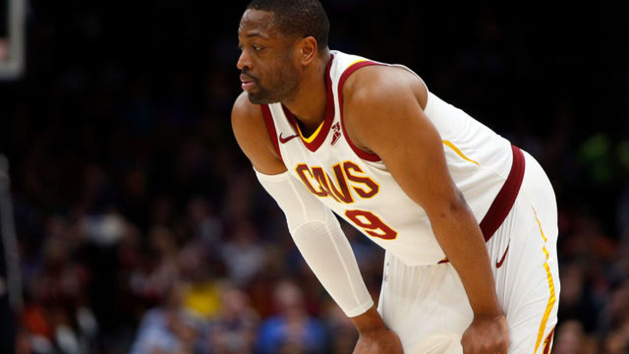 Cavs guard Dwyane Wade excused for 'personal matter'