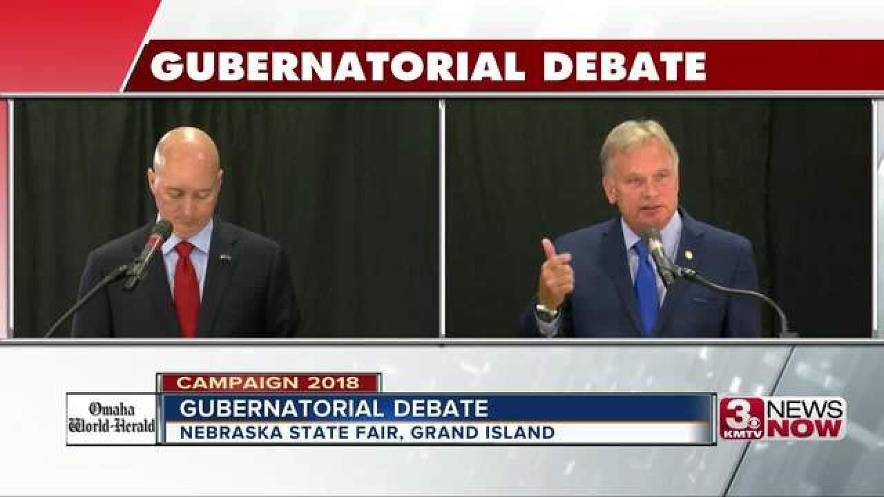 Property taxes at center of gubernatorial debate