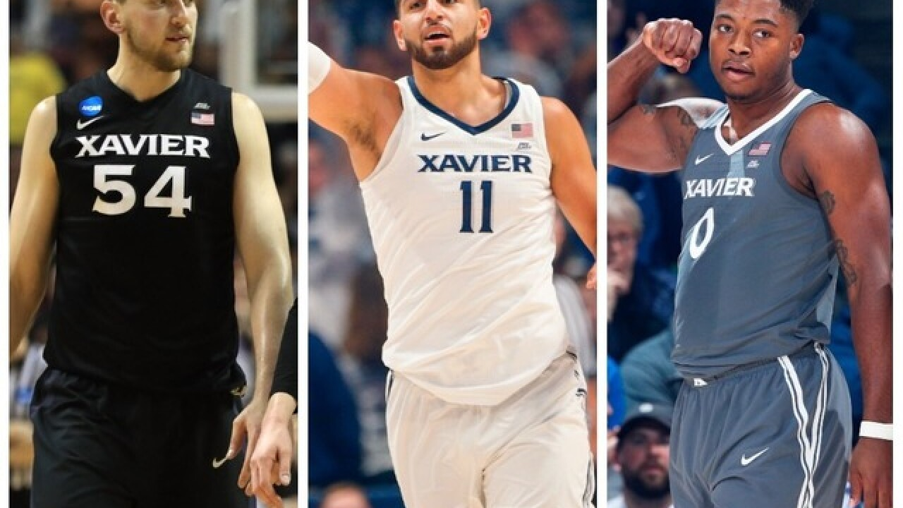 They may not get the headlines, but Xavier's 'three-headed monster' does the dirty work