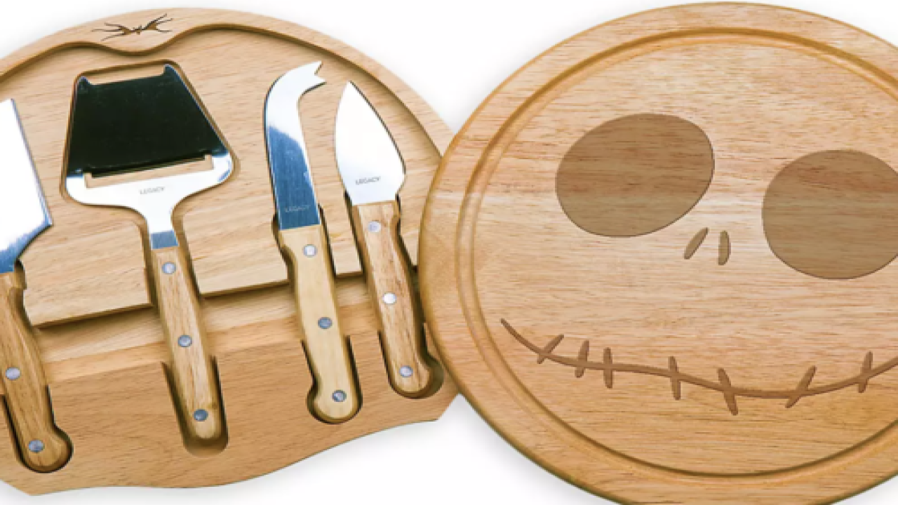 Jack Skellington Cheese Board Is Perfect For Halloween