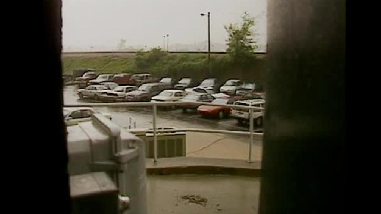 1998 Tornado Hits NewsChannel 5 Loading Dock