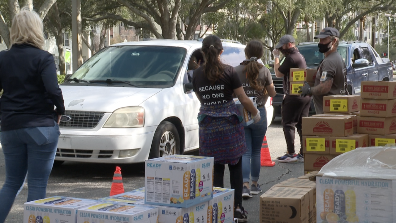 Disaster Food Donations