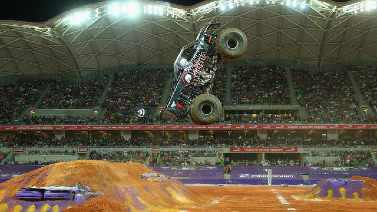Monster Jam is coming to Fiserv Forum