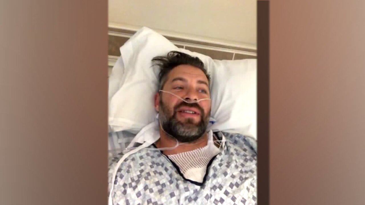 Utah man struck by lightning shares his story, discusses road to recovery