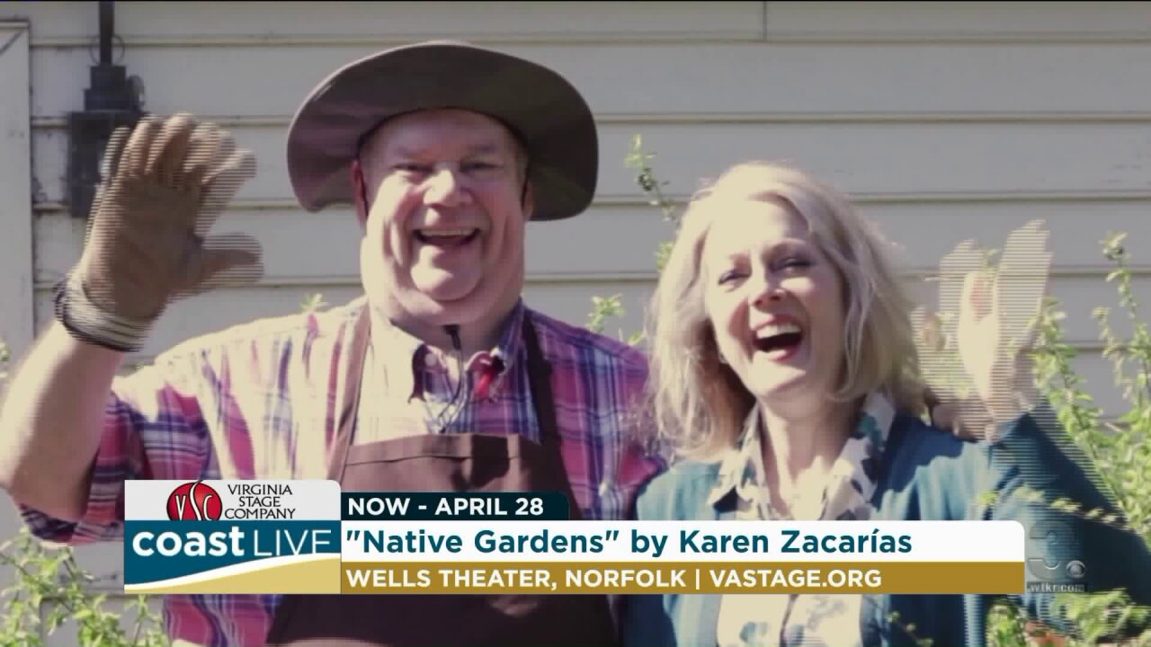 Virginia Stage Company's modern comedy Native Gardens on Coast Live
