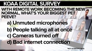 KOAA Survey: With remote work becoming the new normal, what is your biggest pet peeve?