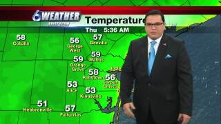 Juan's weather for Nov. 19