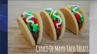 How to make Taco Cookies for your Cinco de Mayo celebration