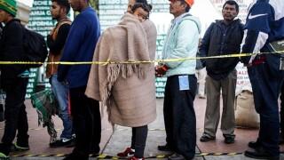 Migrant caravan awaits next step