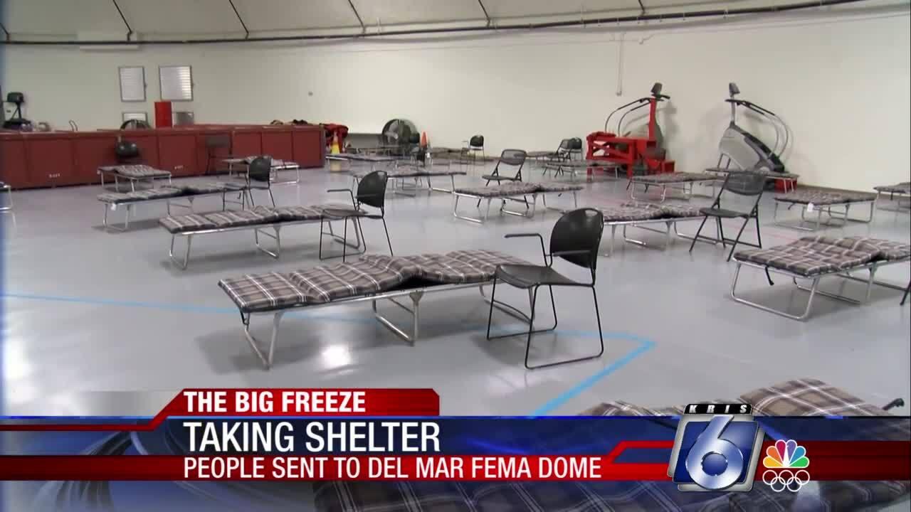 Del Mar College FEMA Dome